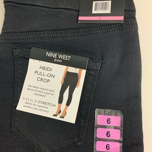 Nine West Heidi pull on crop size 6